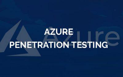 Azure Penetration Testing